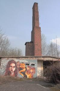 komin i graffiti